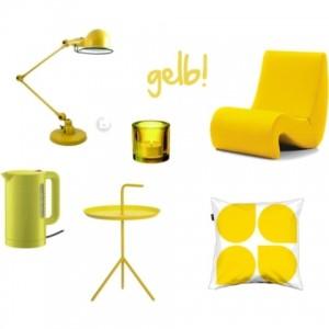 Einrichten mit Farben - gelbe Farbtöne rufen die Sonne!