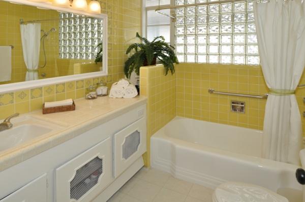 gelbe-farbtöne-badezimmer
