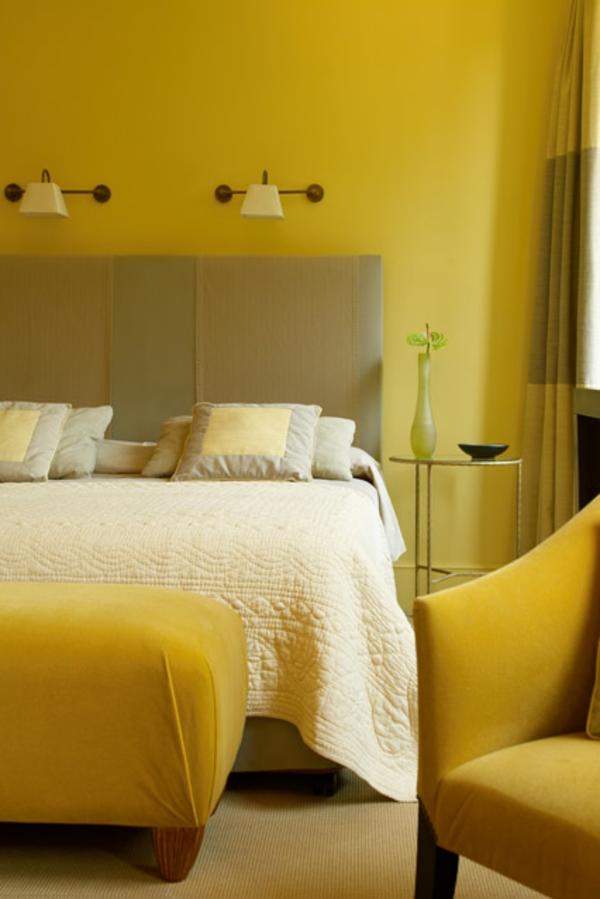 gelbe-farbtöne-schlafzimmer