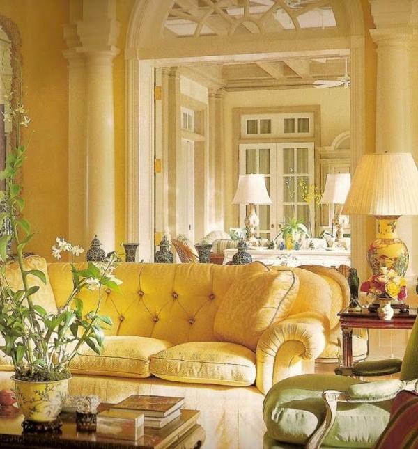gelbe-farbtöne-wohnzimmer-2