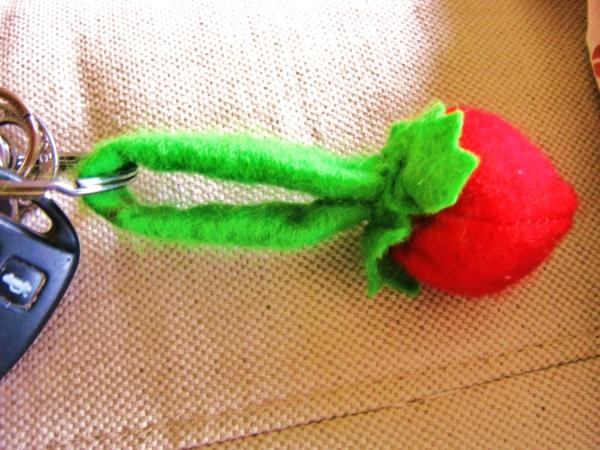 geschenk-nähen-schlüsselanhänger-selber-nähen-kreativ gemacht