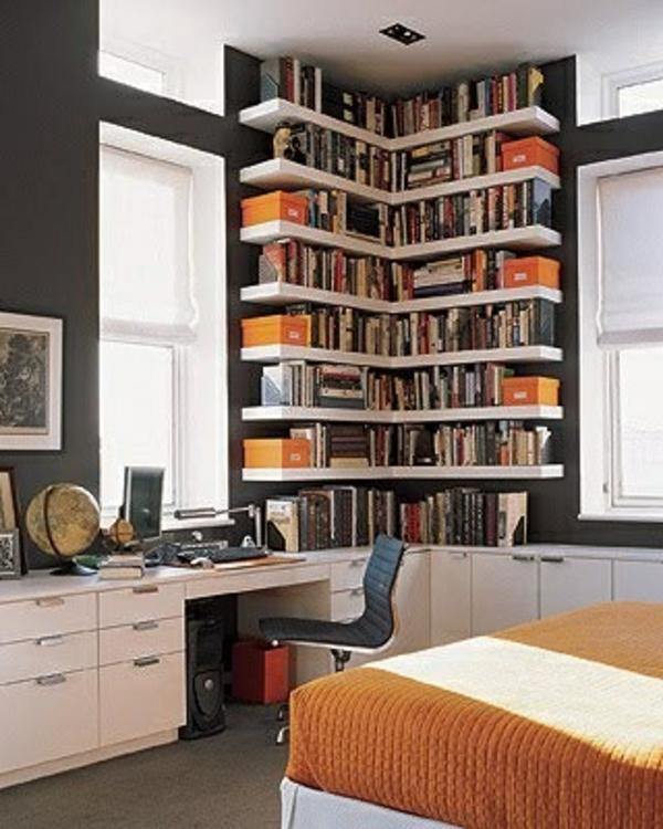 ein modernes eckregal f r ihre wohnung. Black Bedroom Furniture Sets. Home Design Ideas
