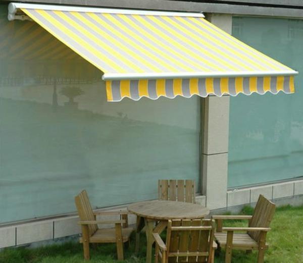 helle-farbe-für-sonnensegel-für-terrasse-eine verblüffende idee