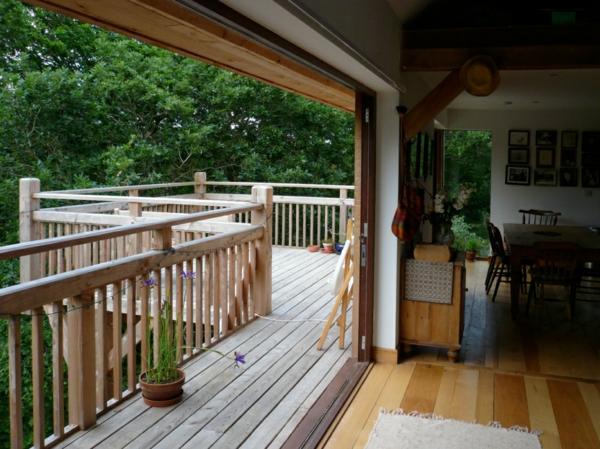 Holzterrassengestaltung  Moderne Holzterrasse Gestaltung - 27 coole Vorschläge! - Archzine.net