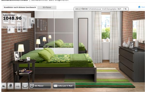 Ikea home planer test interessante ideen - Schlafzimmerplaner ikea ...