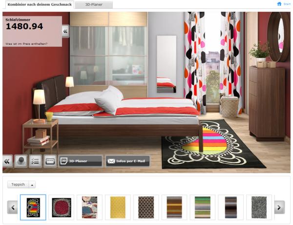 ikea schlafzimmerplaner haben sie schon probiert. Black Bedroom Furniture Sets. Home Design Ideas