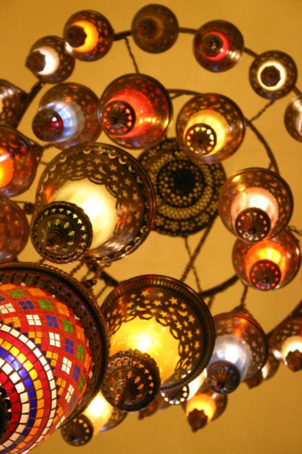 Orientalische lampen f r ein exotisches ambiente im zimmer for Indische einrichtungsideen