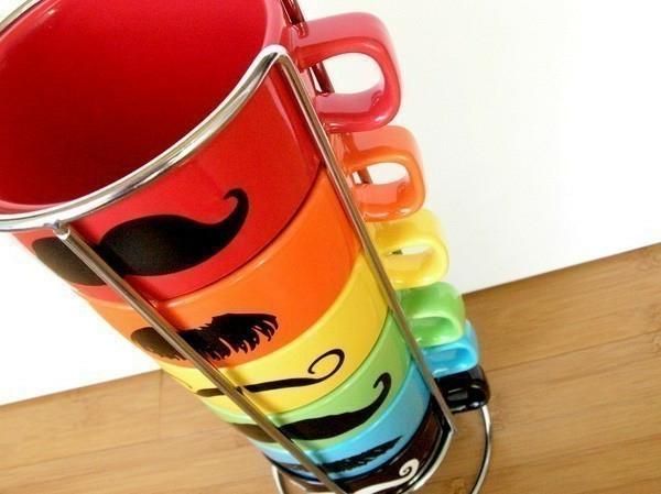 interessante-bunte-tassen-geschenke-zum-vatertag- super schön