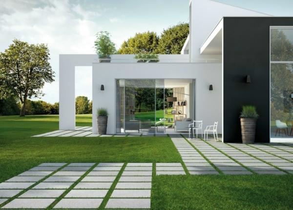 interessante-minimalistische-architektur- garten groß