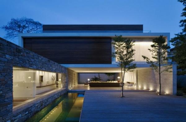minimalistische architektur 40 fotos. Black Bedroom Furniture Sets. Home Design Ideas