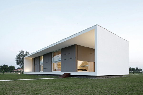 Minimalistische architektur 40 fotos for Maison italienne architecture