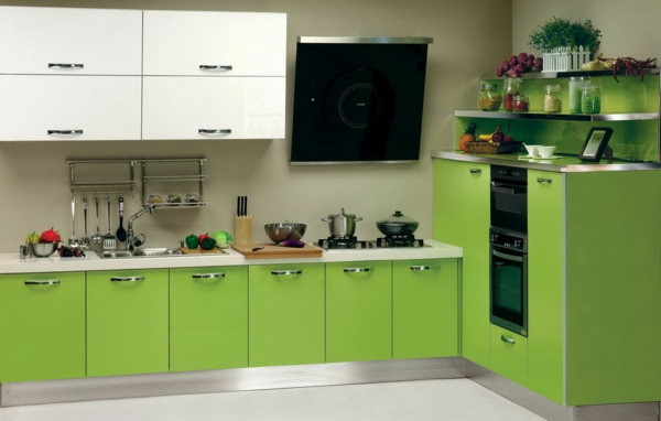 Einrichten mit Farben: Grüne Farbtöne für frische Atmosphäre!