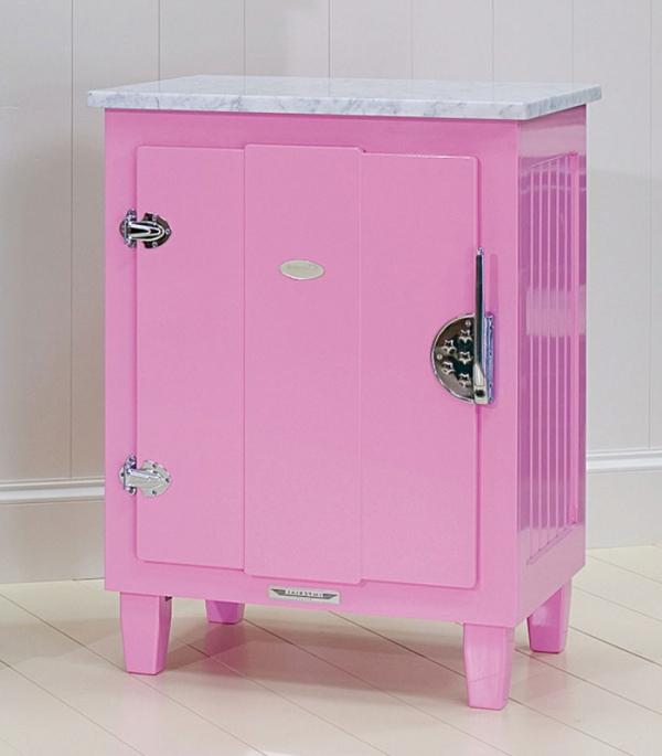 kühlschrank-rosa-farbe- super schönes modell