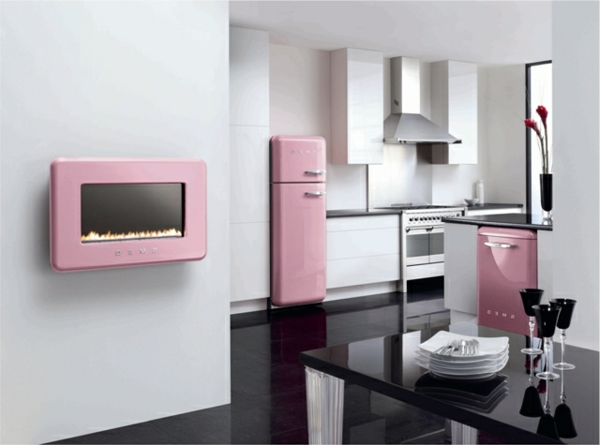 kühlschrank-smeg-rosa-farbe-super elegante gestaltung