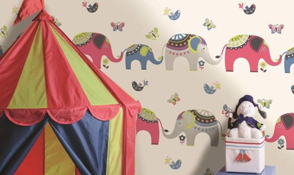 kindertapete-dschungel-kinderzimmer-elefanten