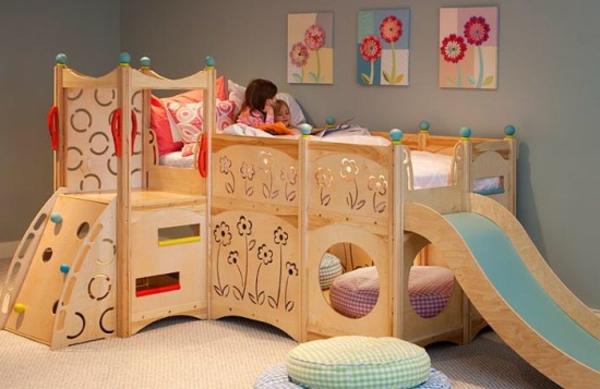 kinderzimmer-gestalten-originelles-design-für-mädchen- schöne bilder an der wand