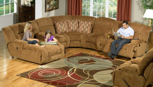 Sofa im Heimkino 30 originelle Vorschläge