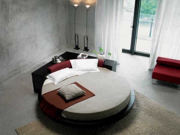 Rundes bett design 40 unglaubliche bilder - Stanze da letto particolari ...