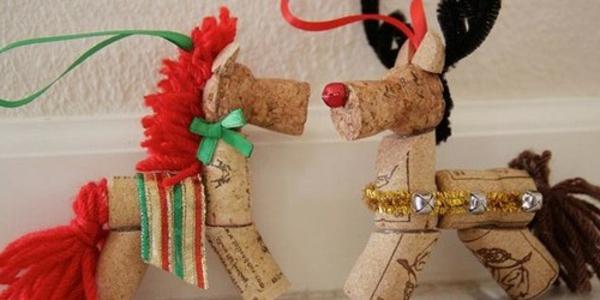 korken-für-weihnachtsschmuck-verwenden-pferde