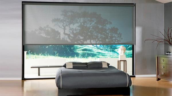 kreativ-ausgestattetes-schlafzimmer-moderne-jalosine-bettdesign