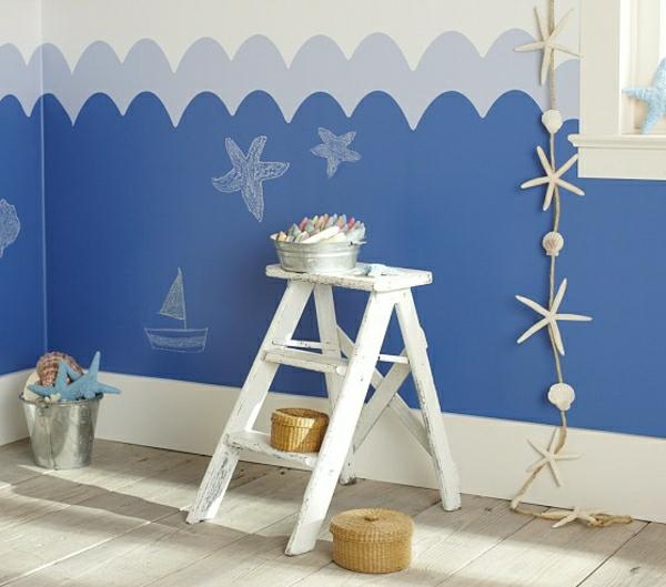 35 interessante ideen für maritime dekoration! - archzine.net - Wandgestaltung Schlafzimmer Maritim