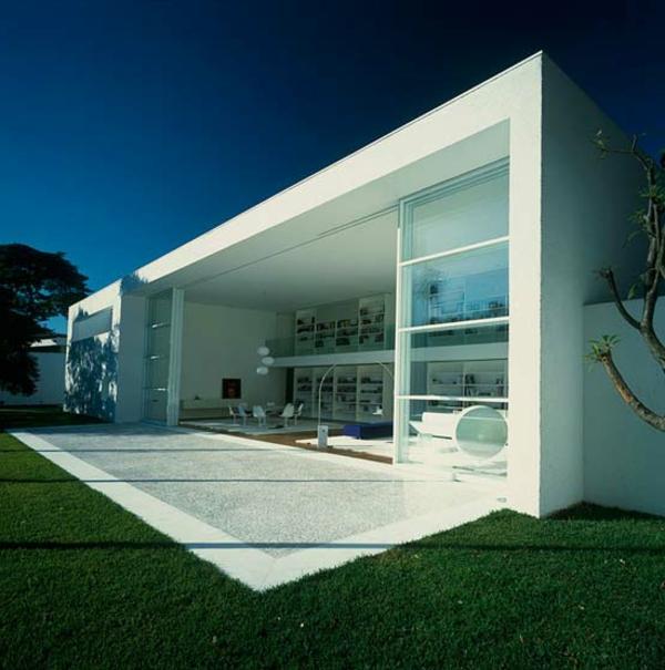 kreative-minimalistische-architektur- schönes haus