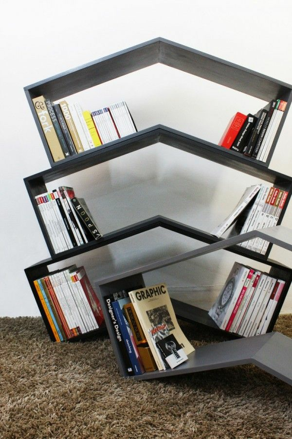 kreative-originelle-bücherregale
