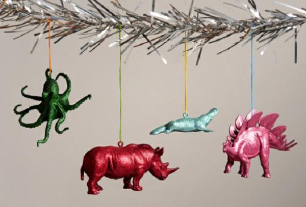 kreative-weihnachtsdeko-basteln-hängende dekoartikel