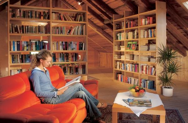 leser- Haus – Bibliothek