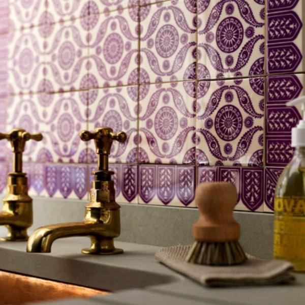 orientalische fliesen f r ein cooles ambiente. Black Bedroom Furniture Sets. Home Design Ideas
