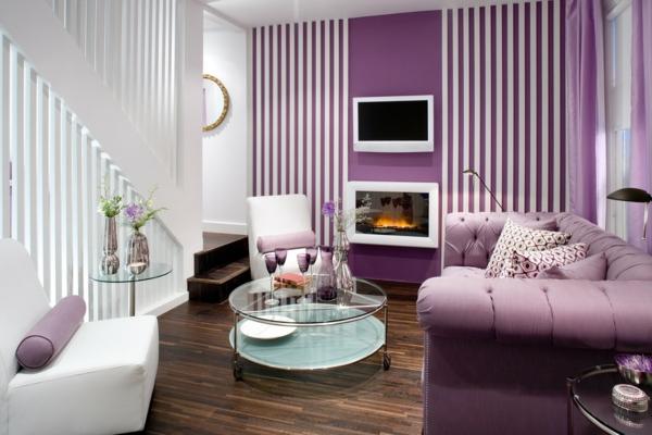 Wohnzimmer Ideen Wandgestaltung Lila ~ Wohnzimmer Ideen Wandgestaltung Lila  Hier sind weitere verblüffende