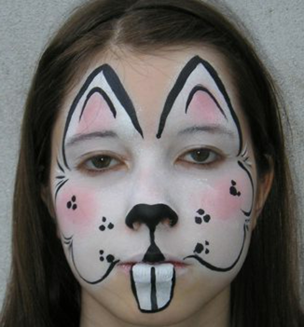 mädchen-face-painting-hase-braune haare