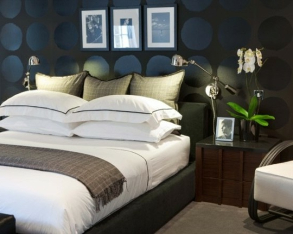 schlafzimmer inspiration speziell f r m nner. Black Bedroom Furniture Sets. Home Design Ideas