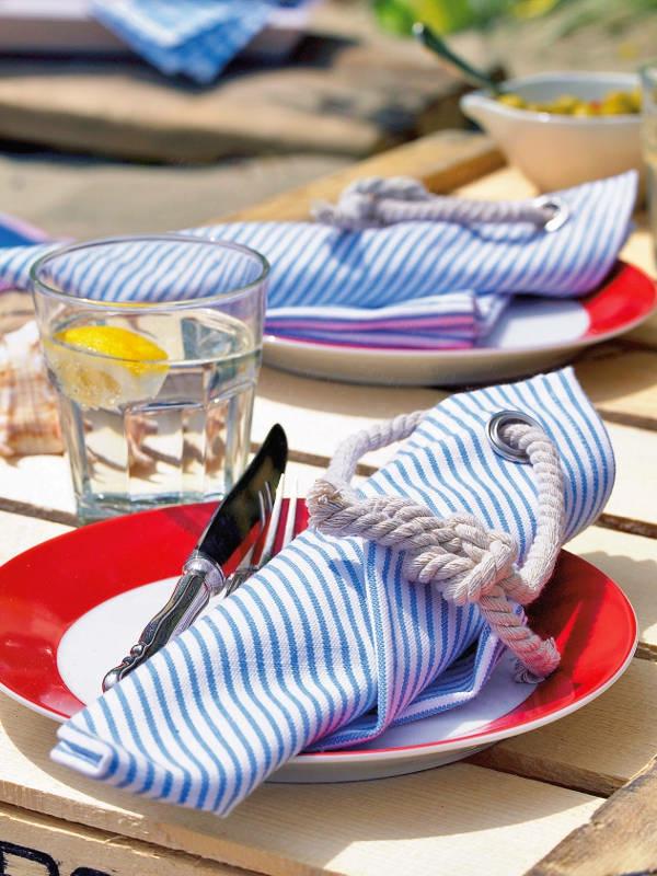 maritime-dekoration-auffällig- sehr originelle servietten