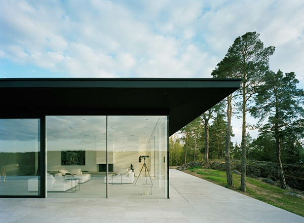 minimalismus-architektur- wände aus glas