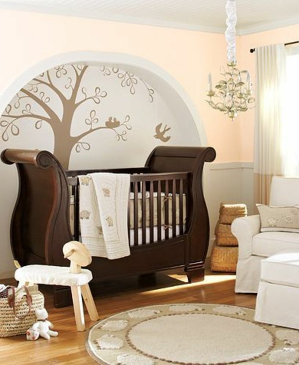 Babybett designs im königlichen stil