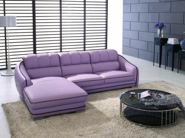 wohnzimmereinrichtung lila interessante ideen f r die gestaltung eines raumes in. Black Bedroom Furniture Sets. Home Design Ideas