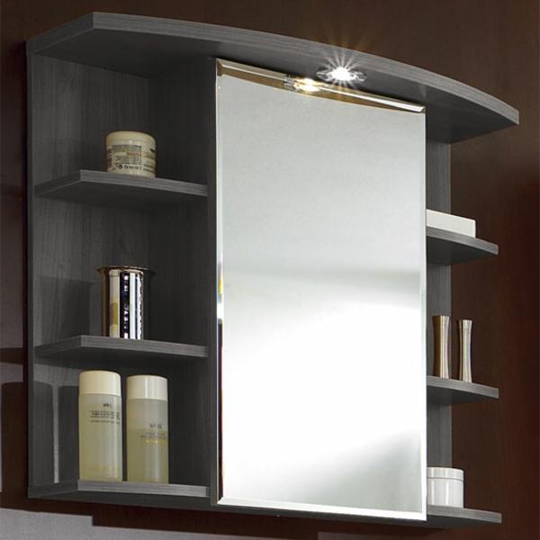 Badezimmer Spiegelschrank Holz ist genial design für ihr haus design ideen