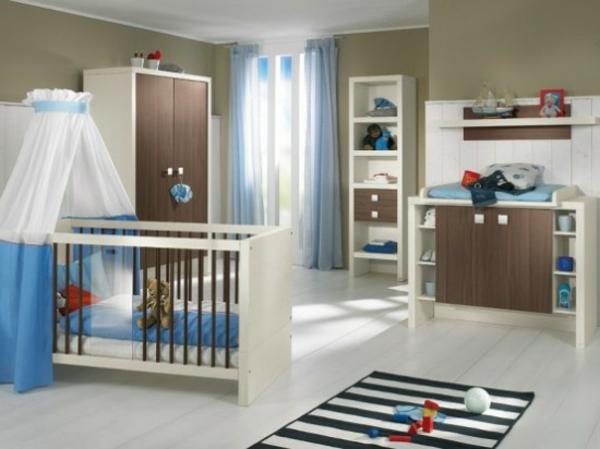 modernes-babyzimmer-kreative-gestaltung-schöner teppich