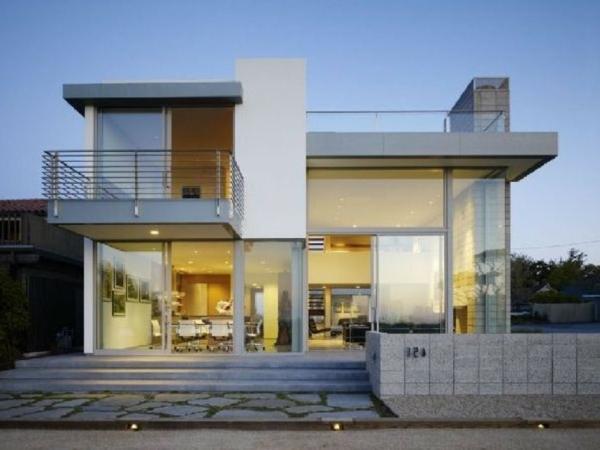 modernes-einfamilienhaus- wunderschöne gestaltung