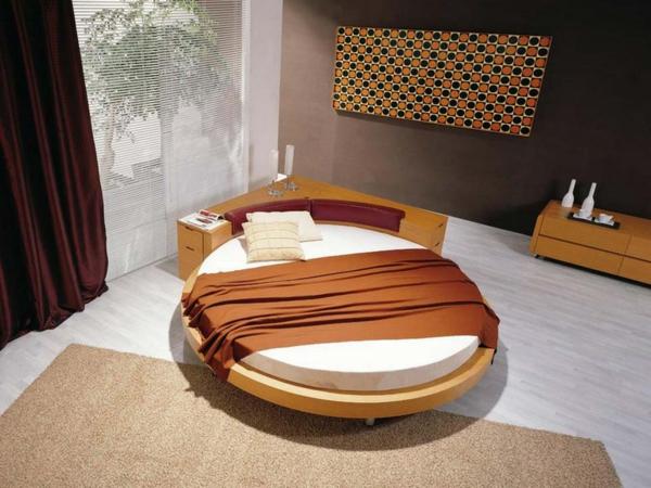 designer bett rund kreative ideen ber home design. Black Bedroom Furniture Sets. Home Design Ideas