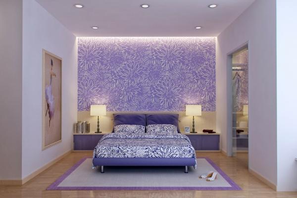 Schlafzimmer Raumgestaltung Farben