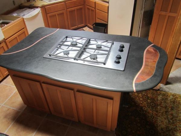 arbeitsplatte aus naturstein f r die k che 32 ideen. Black Bedroom Furniture Sets. Home Design Ideas