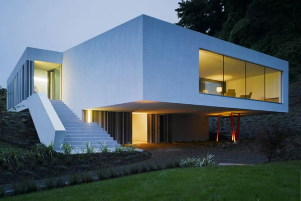 neue-prima-idee-für-minimalistische-architektur-weiße farbe