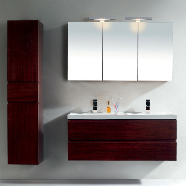 Badezimmer Spiegelschrank Modern #20: Moderner Spiegelschrank Für Badezimmer U2013 Stil Und Klasse!