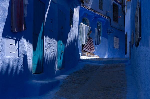 originelle-ausstattung-alte-stadt-in-morocco-blaue-farbe
