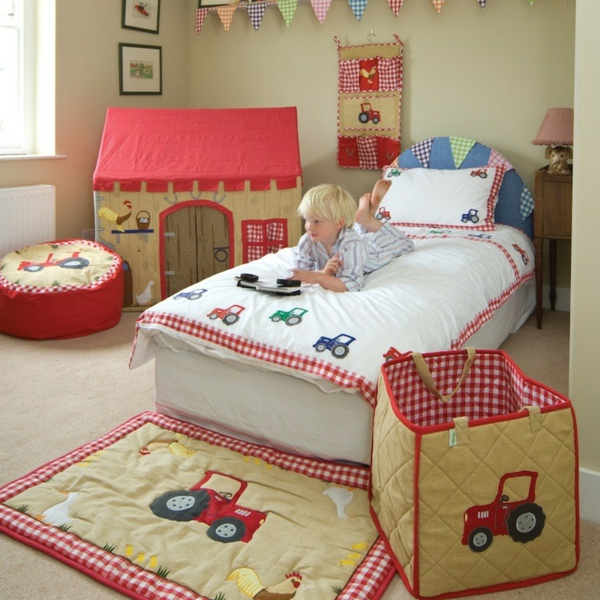 Bettw sche mit kindermotiv f r ein freundliches ambiente - Bettwasche baby junge ...