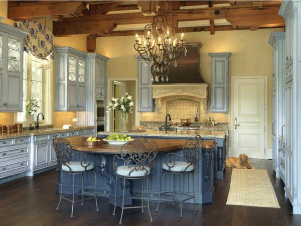 Französische Landhausküchen - 30 coole Ideen! - Archzine.net