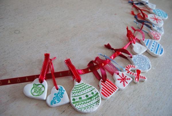 originelle-und-schöne-weihnachtsdeko-basteln-schöne kette