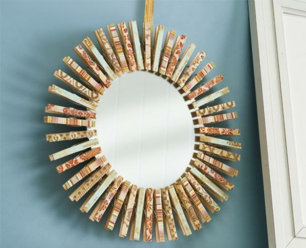 Fall Picture Frame Wreath Crafts